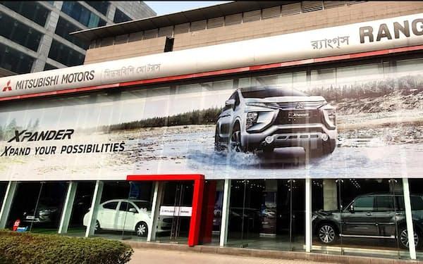 三菱自はバングラデシュの新車市場でシェアが高い