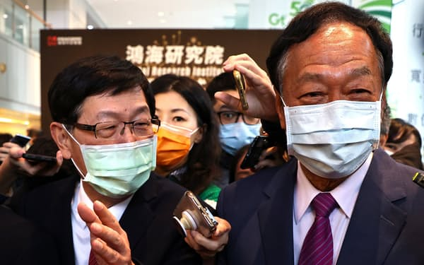 鴻海の郭台銘(テリー・ゴウ)氏は、ワクチン調達で中国との交渉に並々ならぬ自信を見せていた=ロイター