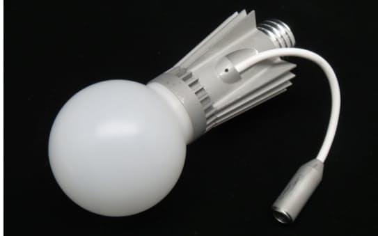全方向形「標準LED」の試作品(提供・産総研)