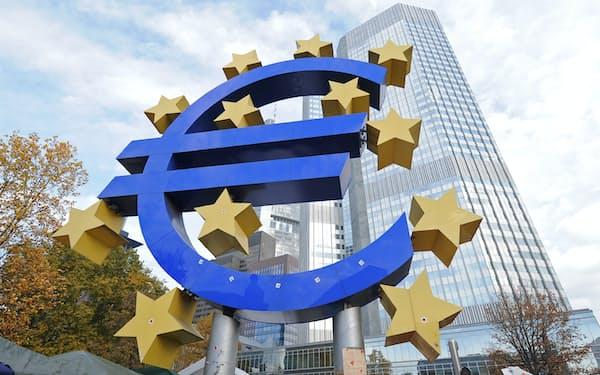 欧州中央銀行(独フランクフルト)