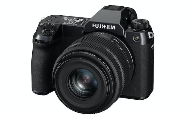 高解像度ミラーレスカメラ「GFX50SⅡ」は従来機から機能を高めつつ、価格を抑えた