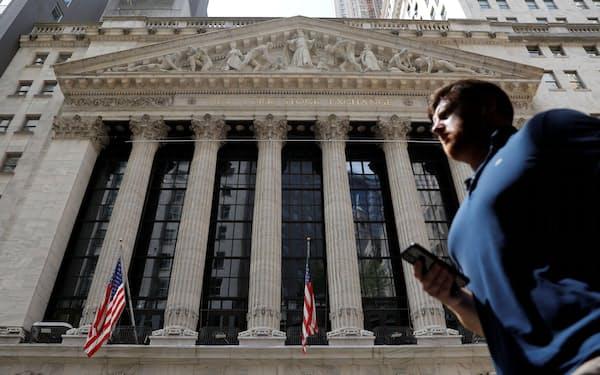 ニューヨーク証券取引所=19日(ロイター=共同)
