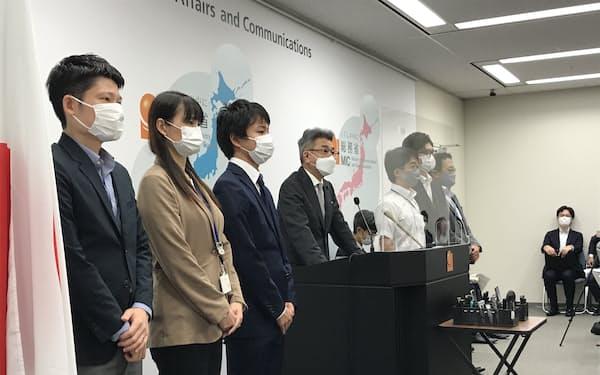 武田総務相は若手からの提言を政策に反映するよう指示した