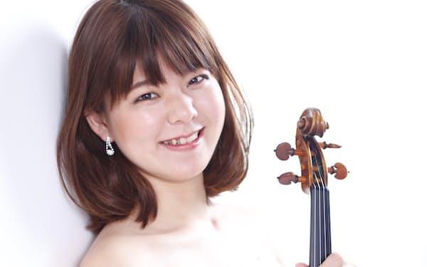バイオリン、ビオラ奏者の芝内もゆる