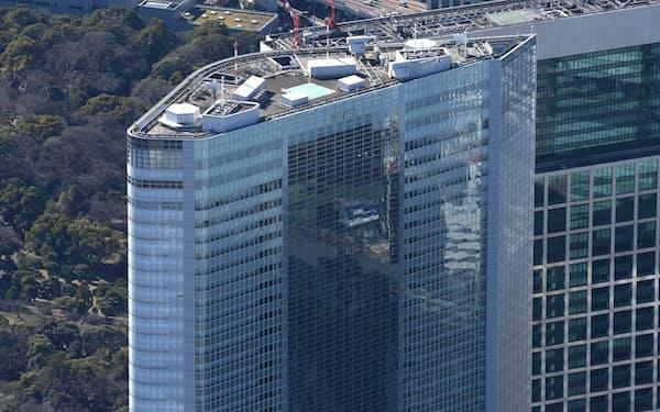 電通グループは電通本社ビル(東京・港)の売却を決めた