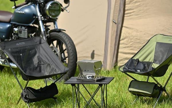 デイトナはキャンプ用品の商品点数を23年12月期までに2倍程度に増やす