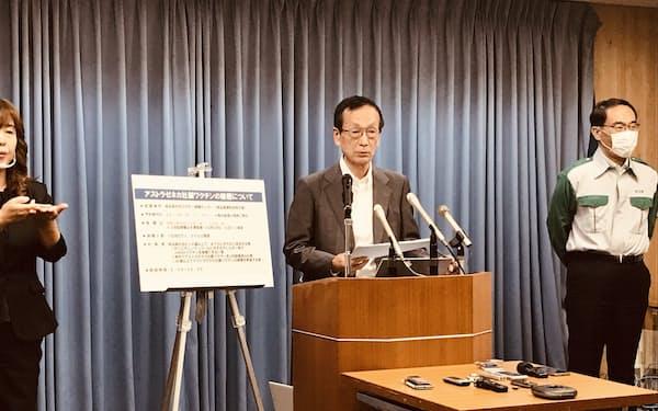 埼玉県医師会の金井忠男会長