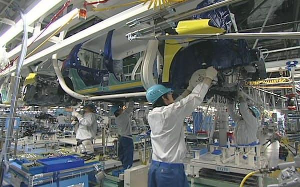ダイハツは大分県の工場などで稼働停止の期間を延長する