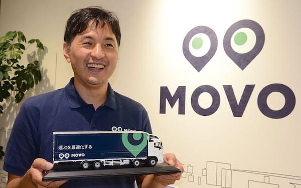 「物流業界は現場が強い」と話す佐々木太郎社長。運転手、配車担当、物流センター長が便利と感じるサービス開発を意識している