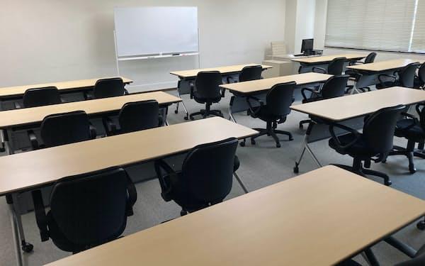 座学などは東海道シグマ(静岡市)の6階で行う