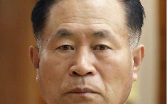 朴正天氏(朝鮮通信・共同)