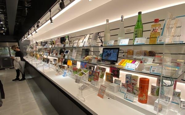 NTT東は東京・渋谷に消費者の行動データを集めるお店を開いた(7月)