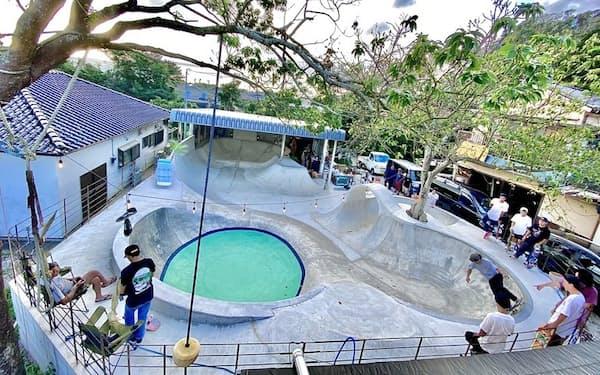 2020年11月、千葉県南房総市に誕生したスケートパーク