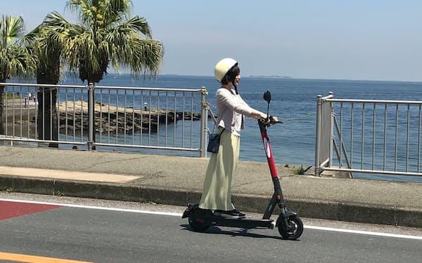京急は観光客向けに観音崎京急ホテル(横須賀市)でシェアリングサービスをはじめた