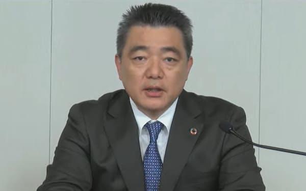 電池の説明会を開いたトヨタの前田CTO