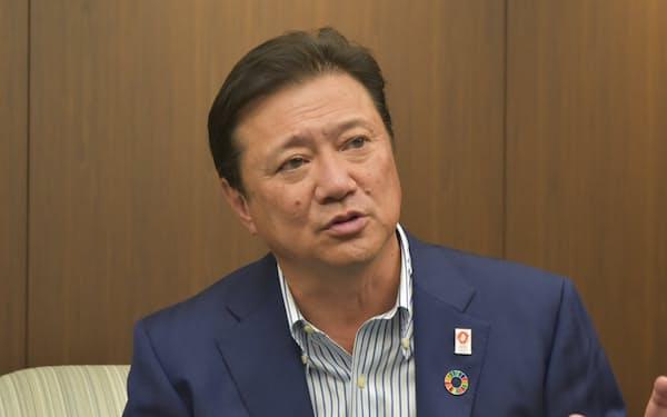 「新たな観光事業を関西の活力創造につなげたい」と三菱UFJ銀の谷口副頭取は強調する