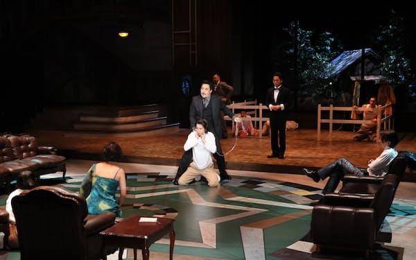 「さいたまネクスト・シアター」の最終公演「雨花のけもの」(8月)=宮川舞子氏撮影