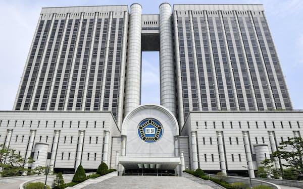 ソウル中央地裁の入る庁舎=共同