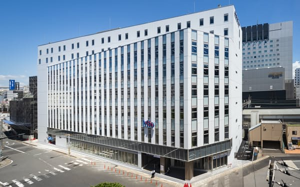 10月に開業する京成千葉中央ビルの外観