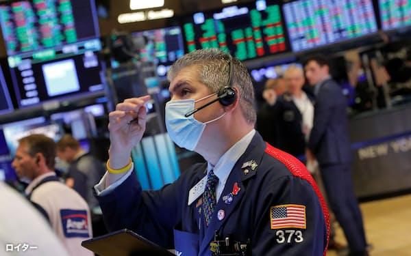米株式市場の勢いは止まらない=ロイター