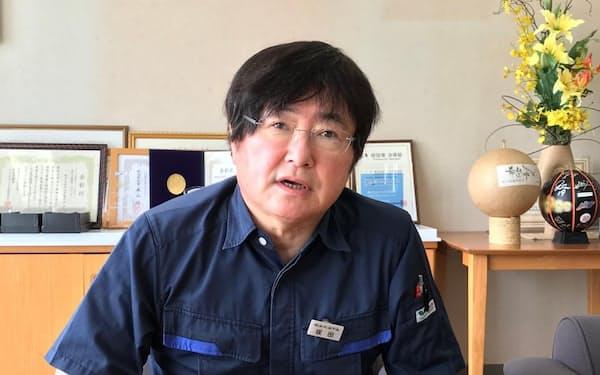 サカタ製作所の坂田社長