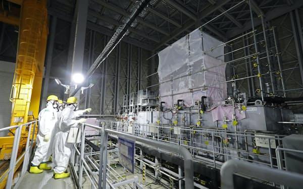 規制庁は汚染水の処理設備などの耐震設計に用いる地震動を引き上げた