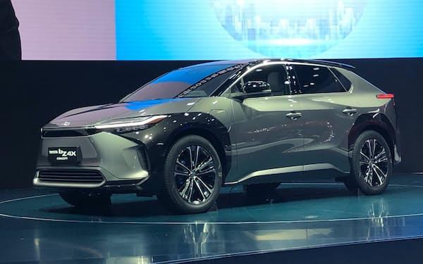 トヨタは電池の制御技術などに強い(SUBARUと共同開発するEVのコンセプト車)