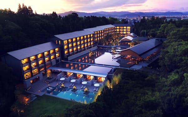 ヒルトンの最上級ブランドホテル「ロク キョウト LXRホテルズ&リゾーツ」は16日、京都市内に開業する