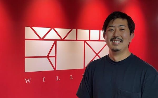 家業の国際物流会社の経験を生かし、ウィルボックスを立ち上げた(横浜市)