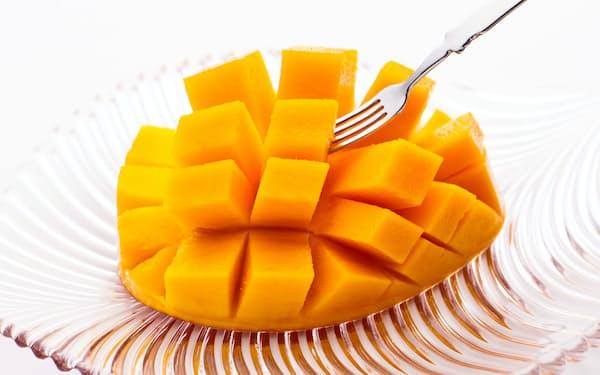 神内マンゴーはきめ細かな果肉の滑らかな舌触りが特徴だ
