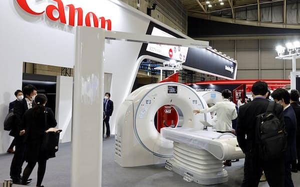 キヤノンはCTなど医療機器事業の拡大を目指す