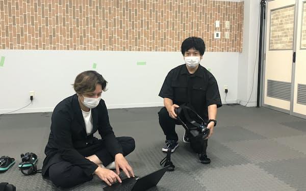 金沢未来のまち創造館に設けたA440の研究拠点