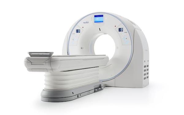 キヤノンは次世代CTの実現に向けてカナダ半導体企業を買収した(写真はキヤノンのCT)