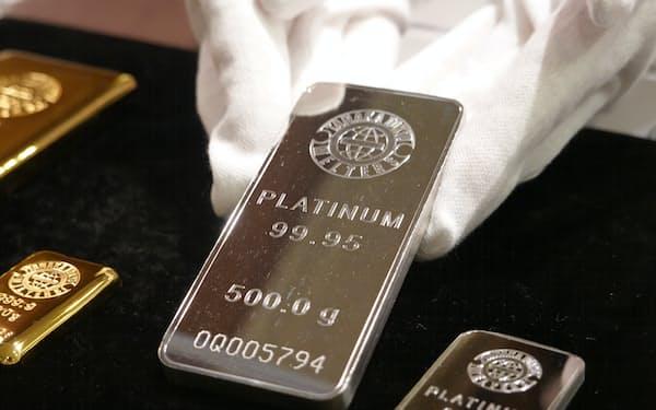 白金の地金