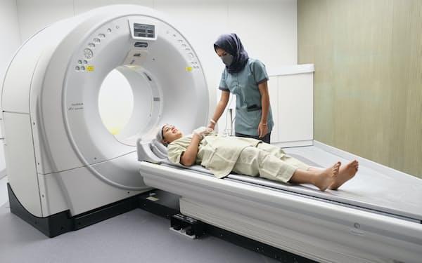 富士フイルムは2月からインドで健康診断サービスを始めた