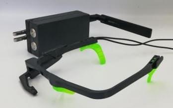 ガゾウが開発する視線データ取得用の眼鏡型の一人称カメラ