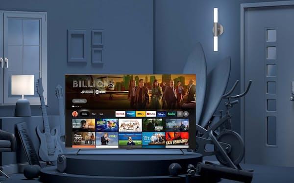 アマゾンがテレビを自社開発したのは初めて(画面はイメージ)