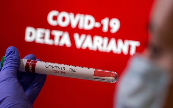 多くの国・地域で新型コロナウイルスのインド型(デルタ型)の感染が増えている=ロイター