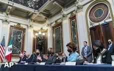 米メキシコ、経済対話を再開 トランプ前政権下で停止