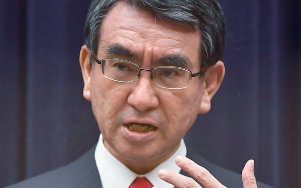 10日に総裁選への出馬を正式表明する河野太郎規制改革相