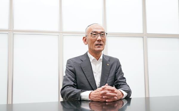 ヤマハ発動機の日高祥博社長
