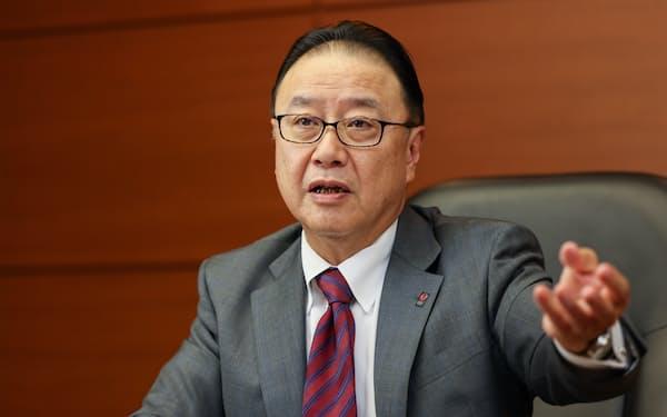 経済同友会の桜田謙悟代表幹事