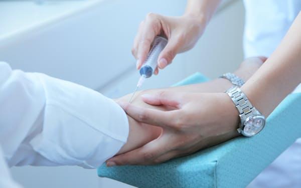 定期的な血液検査で数値を確認することが重要だ