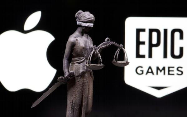 アップルとエピックの訴訟はアプリストアの将来を決める裁判として注目を集めていた=ロイター