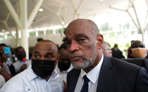 ハイチのアンリ首相=ロイター