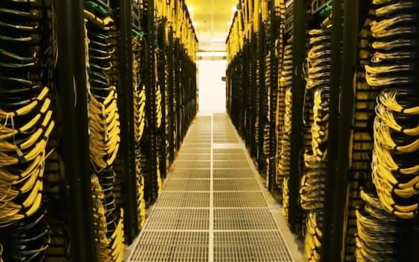 アマゾンのアメリカにあるデータセンター
