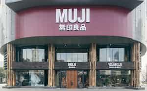 中国で「無印良品」の商標訴訟が続く(写真は上海の新店舗)