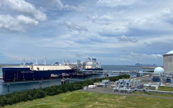 天然ガスの輸入価格は大幅に上昇した