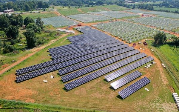 三菱重工グループのオリデン社から太陽光事業を買収した(三菱重工提供)