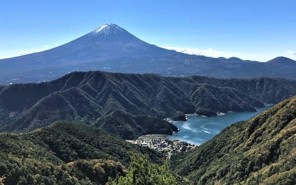 山梨側の富士山の登山者は最少になった